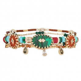 Bracelet Sherpa green Hipanema