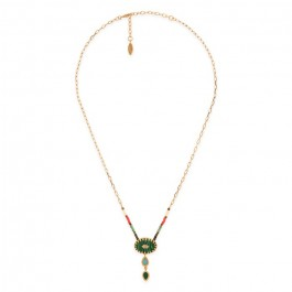 Hipanema Bessame green necklace