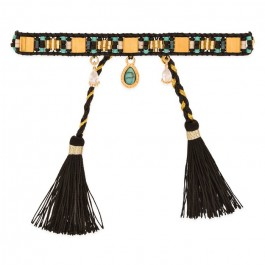 Bracelet Hipanema Plume black