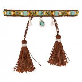 Plume brown Hipanema bracelet