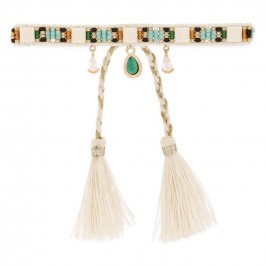 Plume white Hipanema bracelet
