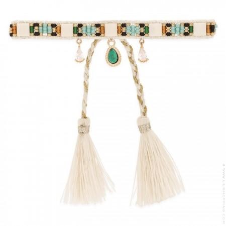 Bracelet Hipanema Plume white
