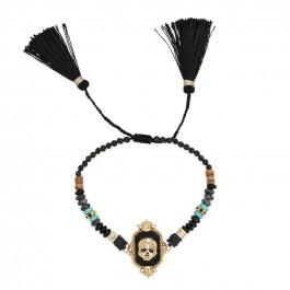 Plume black Hipanema bracelet