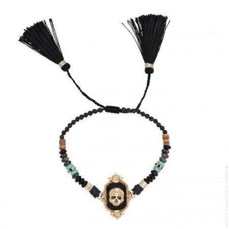 Bracelet Hipanema Scream black