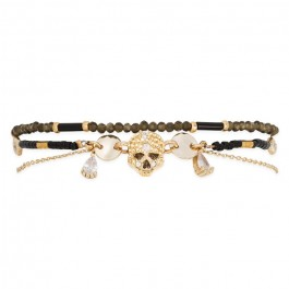 Bracelet Hipanema Elivira black