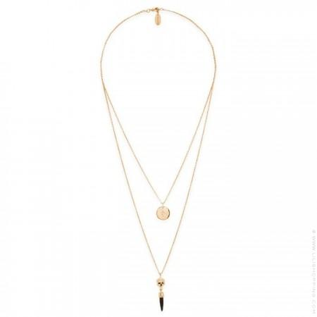 Hipanema Poison black necklace