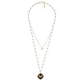 Hipanema Poison black necklace
