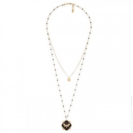 Collier Hipanema Revenge black