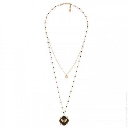 Hipanema Revenge black necklace