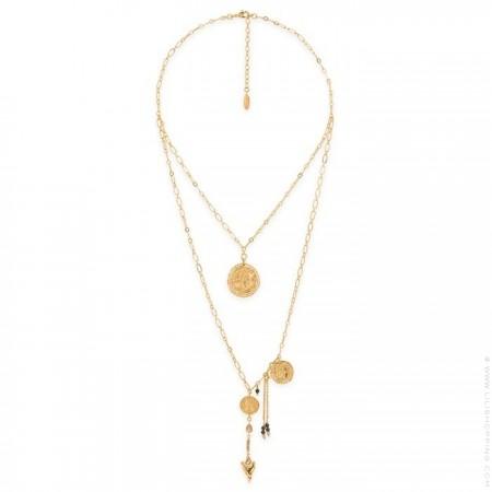 Hipanema Mythe black necklace