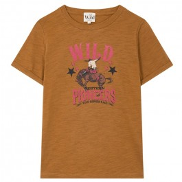 Tee Shirt Horsy brown Wild by Amenapih