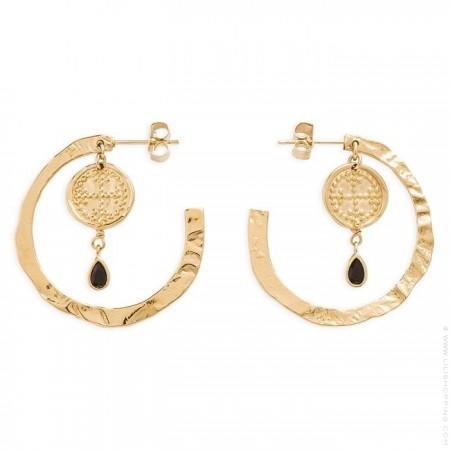 Desiderada Hipanema hoops earrings