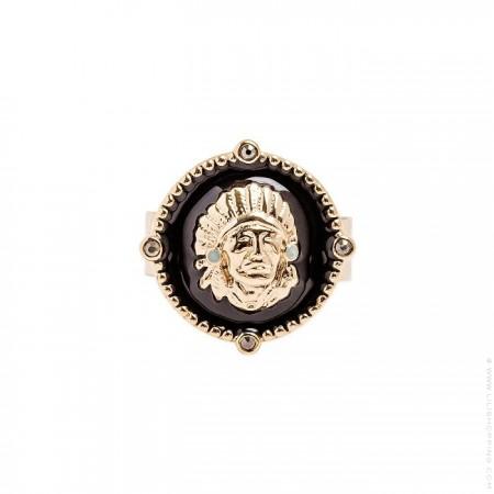 Morris black ring