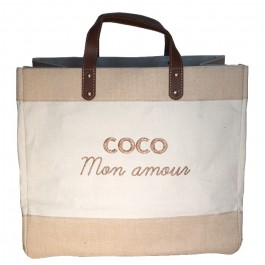 Le Mademoiselle bag Coco mon amour gold