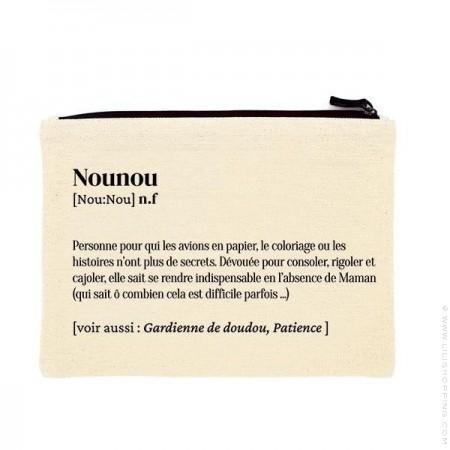 Pochette Nounou