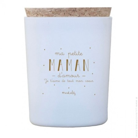 Ma petite maman d'amour candle