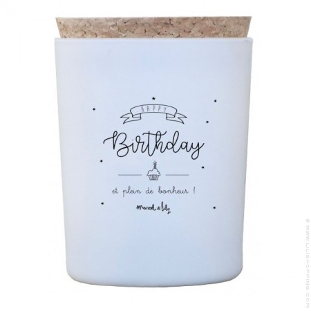 Happy birthday candle
