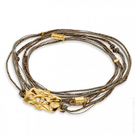 Shinny Eye multi cord bracelet