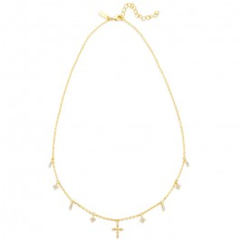 Gold plated High Line necklace