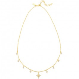 Gold plated Harlem necklace