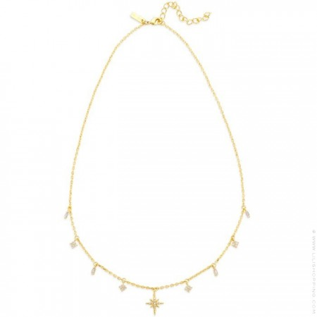 Gold plated Liberty necklace