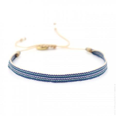Bracelet Argentinas bleu vert