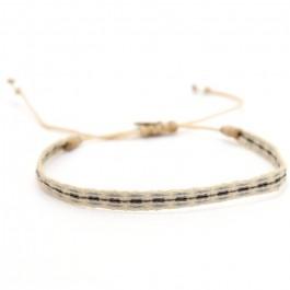Bracelet Argentinas beige jean gun
