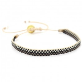 Argentinas beige brown black  bracelet