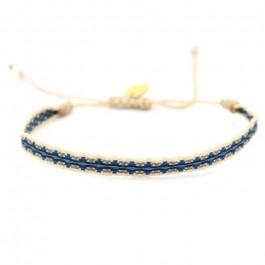 Bracelet Argentinas bleu beige