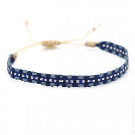 Bracelet Argentinas bleu denim