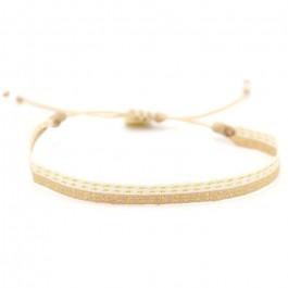 Argentinas beige gold bracelet