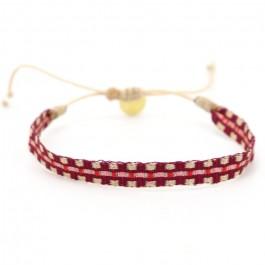 Argentinas redwine pink bracelet
