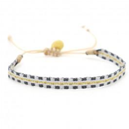 Argentinas gold grey bracelet