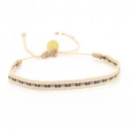 Bracelet Argentinas beige gun or rose