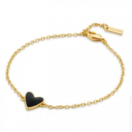 Bracelet Black Heart