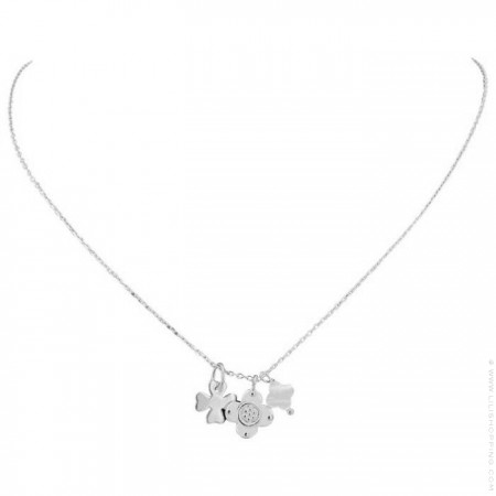 Silver Chance Chain Necklace