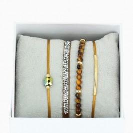 Bracelets La Re-Belle ocre