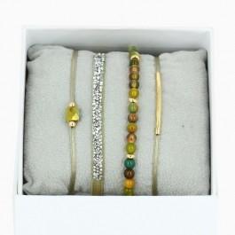 Khaki La Re Belle bracelets