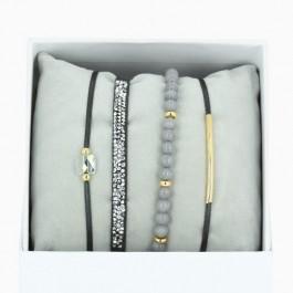 Bracelets La Re-Belle gris