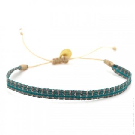 Bracelet Argentinas vert turquoise beige