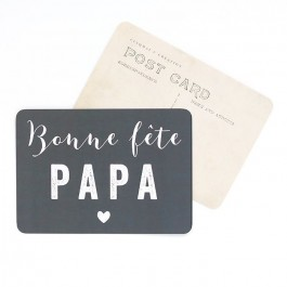 Carte postale Cinq Mai - Bonne Fête Papa ardoise