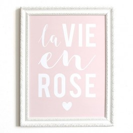 Affiche Cinq Mai - La vie en rose