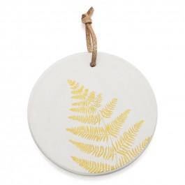 Médaillon Fougère dorée