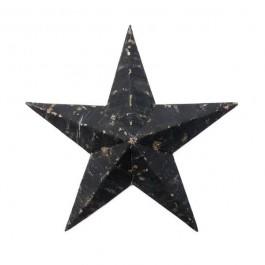 56 cm black Amish Star