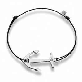 Bracelet Ancre en argent Les étoiles de Lily