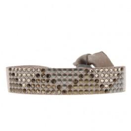Bracelet triangle métal beige rosé Les Interchangeables
