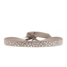 Bracelet pluie de strass beige