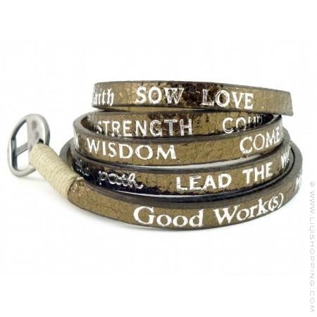 Bracelet bronze Good Work(s) Standard Metallic