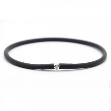Bracelet My first diamond noir