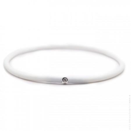 Bracelet My first diamond blanc